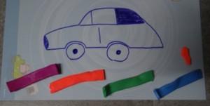 Рисование пластилином для маленьких (6)
