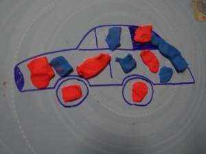 Рисование пластилином для маленьких (4)