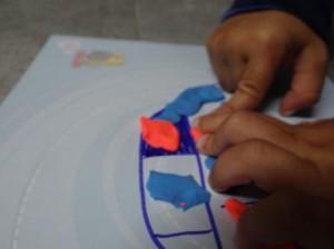 Рисование пластилином для маленьких (3)