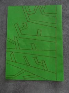 Аппликация дерево - поделка для школьников (10)