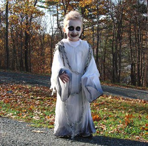Детский костюм на Хэллоуин своими руками   (6)