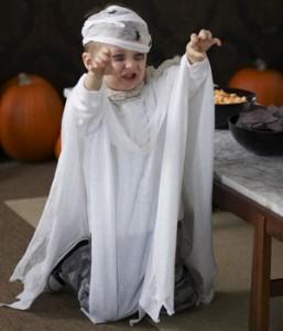 Детский костюм на Хэллоуин своими руками   (7)