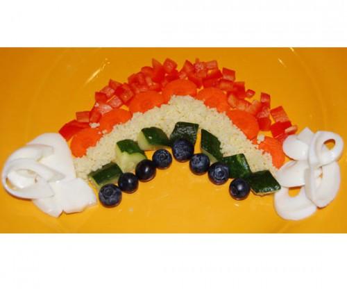 Забавная идея как накормить ребенка - детское оформление блюд (13)
