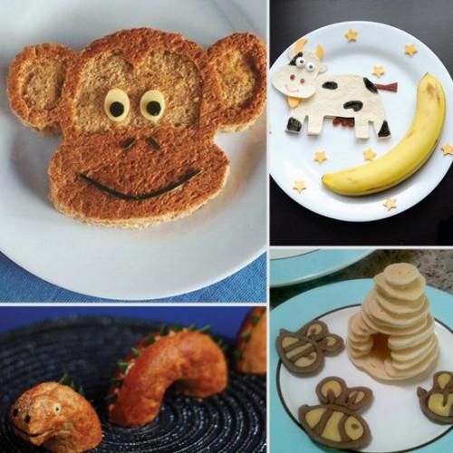 Забавная идея как накормить ребенка - детское оформление блюд (28)