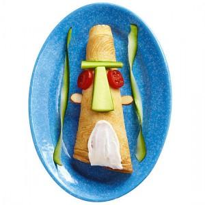 Забавная идея как накормить ребенка - детское оформление блюд (6)