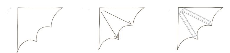 Как сделать костюм летучей мыши своими руками 4