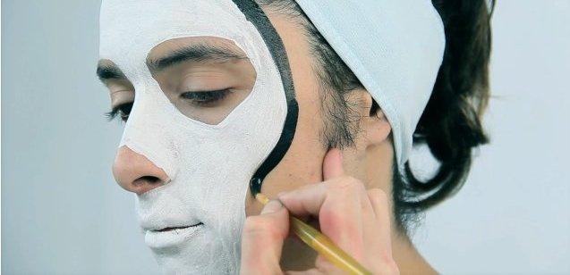 Как сделать краску для лица в домашних условиях