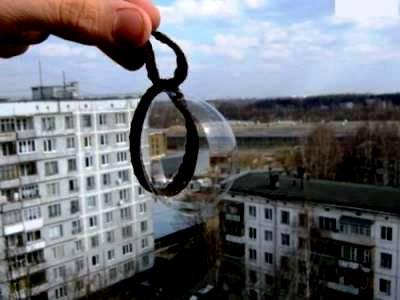 Большие мыльные пузыри - гигантские мыльные пузыри (11)