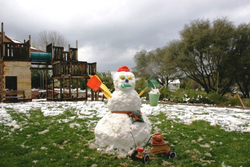 Поделка снеговик - фото снеговика (5)
