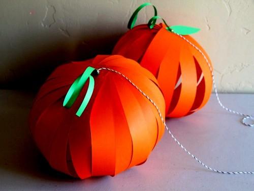 Украшения на Новый Год своими руками - или на Хэллоуин поделки своими руками (12)