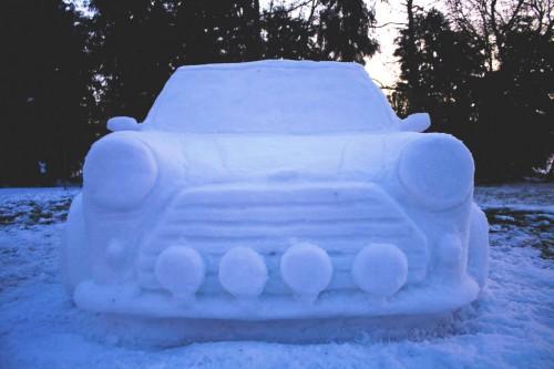Фигурки из снега - скульптуры из снега (2)