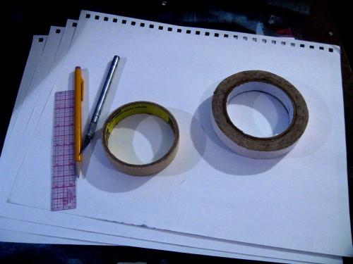Новогодние поделки своими руками из бумаги - как сделать объемную снежинку из бумаги (3) .