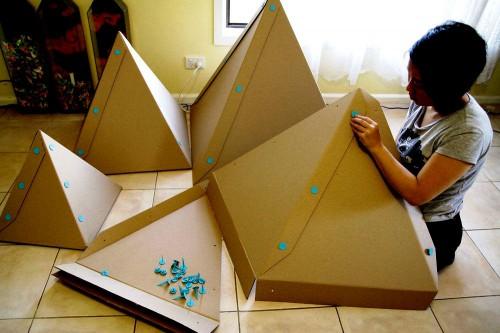 Елка своими руками из бумаги - сделать елку своими руками (5)