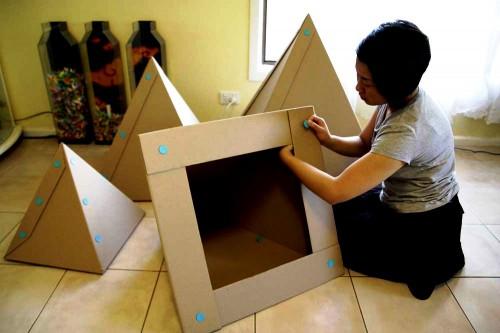 Елка своими руками из бумаги - сделать елку своими руками (7)
