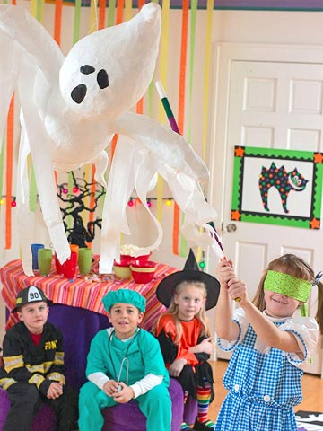 Детский Хэллоуин дома