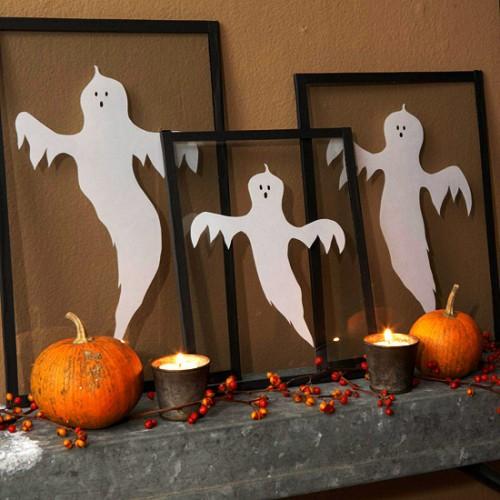 Идеи для Хэллоуина - Привидения (18)