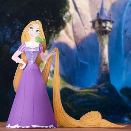 Как сделать куклу из бумаги - Принцессы (6)