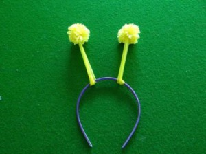 Как делать помпон из ниток - поделки из помпонов (2)