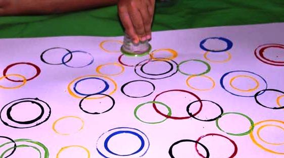 Рисунки кругами - Техника рисования для детей (4)