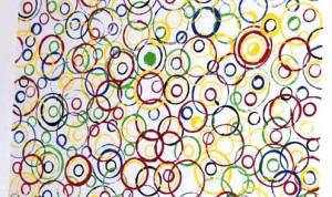 Рисунки кругами - Техника рисования для детей (1)