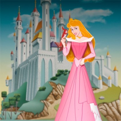 Как сделать куклу из бумаги - Принцессы (3)