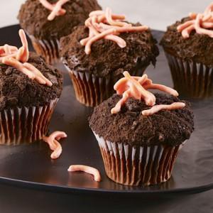 Рецепты на Хэллоуин - Страшные кексы (4)