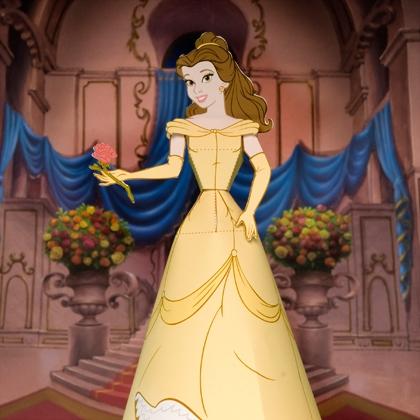 Как сделать куклу из бумаги - Принцессы (4)