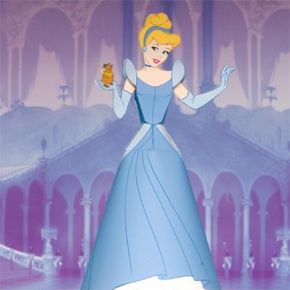 Как сделать куклу из бумаги - Принцессы (1)