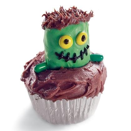 Рецепты на Хэллоуин - Страшные кексы (1)