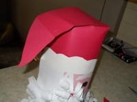 Дед Мороз из бумаги: зимние поделки своими руками (3)