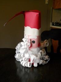 Дед Мороз из бумаги: зимние поделки своими руками (2)
