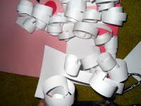 Дед Мороз из бумаги: зимние поделки своими руками (7)