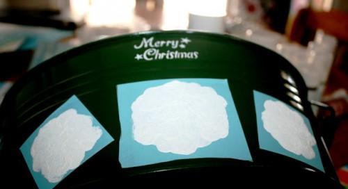 Как сделать новогодние украшения - украшения на Новый Год своими руками (7)