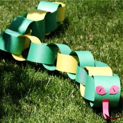 Поделки к году змеи - поделки из бумаги к Новому году (1) .