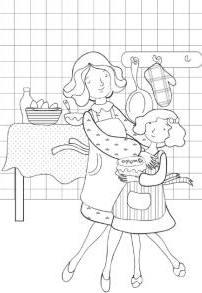Поделка на день матери для школьников