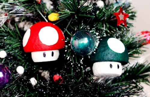 Самодельные новогодние игрушки - елочные украшения ручной работы (1)
