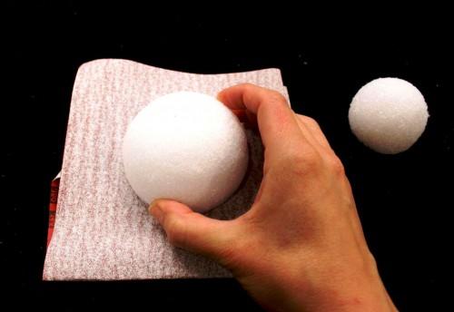 Самодельные новогодние игрушки - елочные украшения ручной работы (8)