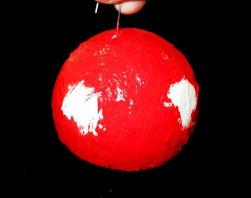 Самодельные новогодние игрушки - елочные украшения ручной работы (16)