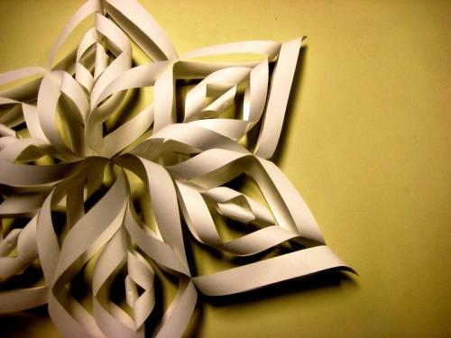 Снежинки своими руками - схемы снежинок из бумаги (1)
