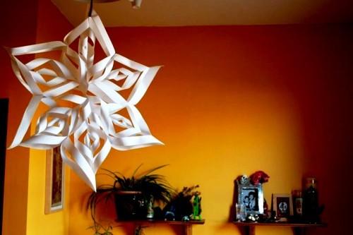 Снежинки своими руками - схемы снежинок из бумаги (2)