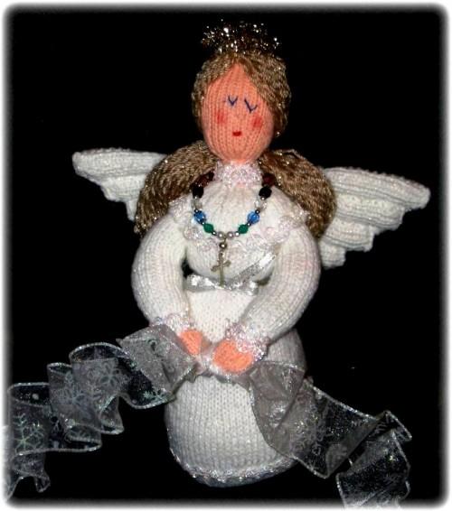 Елочные игрушки крючком - вязаные новогодние игрушки (23)