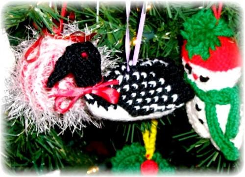 Елочные игрушки крючком - вязаные новогодние игрушки (25)