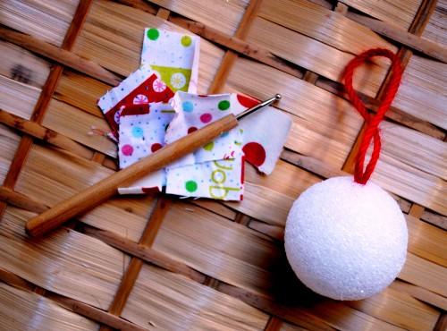Игрушка новогодняя своими руками - украшения для елки (2)