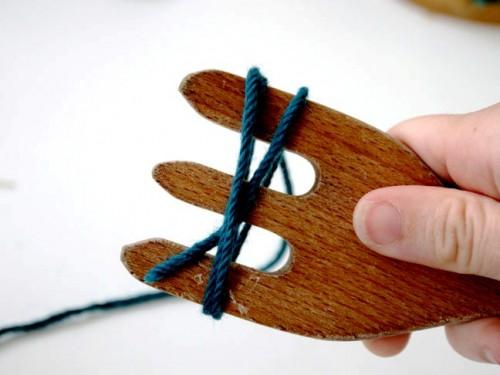 Как сделать гирлянду - новогоднюю гирлянду своими руками (3)
