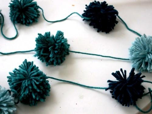 Как сделать гирлянду - новогоднюю гирлянду своими руками (9)