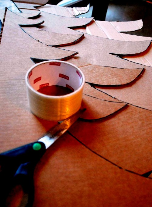 Креативная елка своими руками - елка своими руками фото (4)