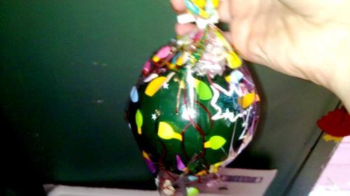 Новогодние игрушки мастер класс - изготовление новогодней игрушки (17)