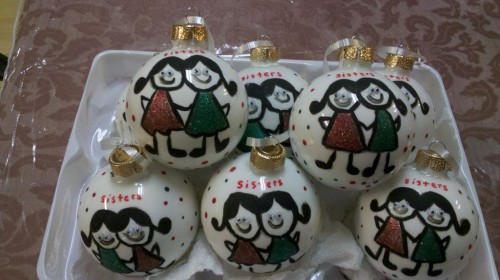Новогодние игрушки мастер класс - изготовление новогодней игрушки (28)
