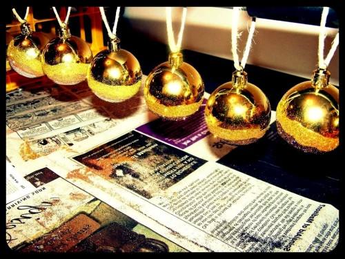 Новогодние шарики - новогодний декор (5)