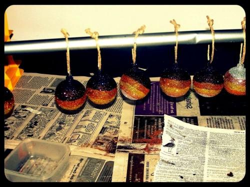Новогодние шарики - новогодний декор (6)
